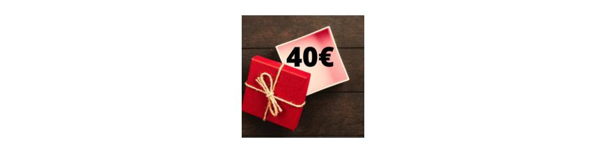 Idee regalo da 40€