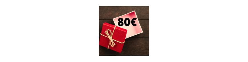 Idee regalo da 80€